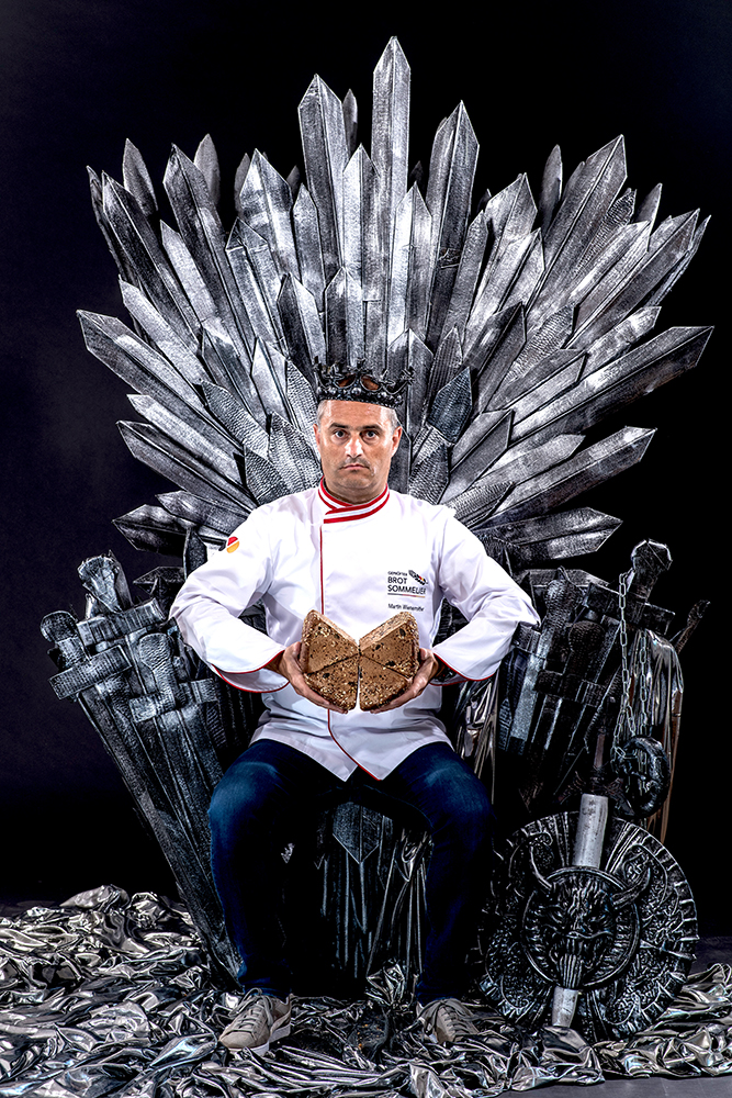 Bread of Thrones - Ammer-Nuss-Spitz